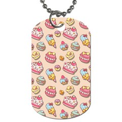 Sweet Pattern Dog Tag (one Side) by Valentinaart