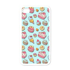 Sweet Pattern Apple Iphone 4 Case (white) by Valentinaart