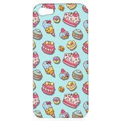 Sweet Pattern Apple Iphone 5 Hardshell Case by Valentinaart