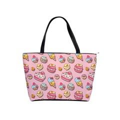 Sweet Pattern Shoulder Handbags by Valentinaart