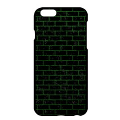 Brick1 Black Marble & Green Leather Apple Iphone 6 Plus/6s Plus Hardshell Case by trendistuff