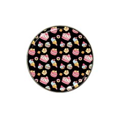 Sweet Pattern Hat Clip Ball Marker (4 Pack) by Valentinaart