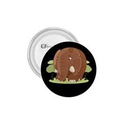 Cute Elephant 1 75  Buttons by Valentinaart
