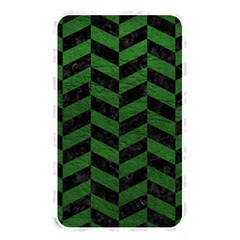 Chevron1 Black Marble & Green Leather Memory Card Reader by trendistuff