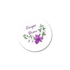 Carpe Diem  Golf Ball Marker by Valentinaart