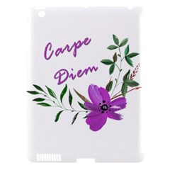 Carpe Diem  Apple Ipad 3/4 Hardshell Case (compatible With Smart Cover) by Valentinaart