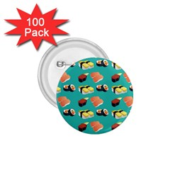Sushi Pattern 1 75  Buttons (100 Pack)  by Valentinaart