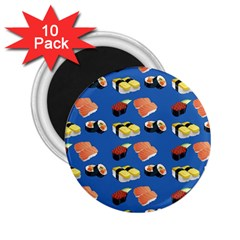 Sushi Pattern 2 25  Magnets (10 Pack)  by Valentinaart