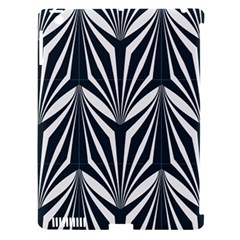 Art Deco, Black,white,graphic Design,vintage,elegant,chic Apple Ipad 3/4 Hardshell Case (compatible With Smart Cover) by 8fugoso