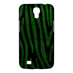 Skin4 Black Marble & Green Leather (r) Samsung Galaxy Mega 6 3  I9200 Hardshell Case by trendistuff