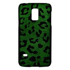 Skin5 Black Marble & Green Leather Galaxy S5 Mini by trendistuff