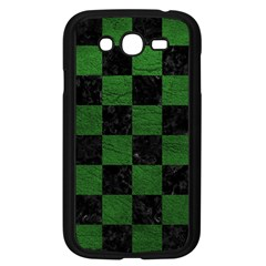 Square1 Black Marble & Green Leather Samsung Galaxy Grand Duos I9082 Case (black) by trendistuff