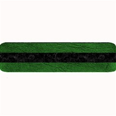 Stripes2 Black Marble & Green Leather Large Bar Mats by trendistuff