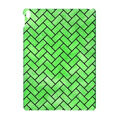 Brick2 Black Marble & Green Watercolor (r) Apple Ipad Pro 10 5   Hardshell Case by trendistuff