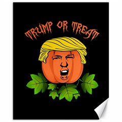 Trump Or Treat  Canvas 16  X 20   by Valentinaart