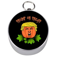 Trump Or Treat  Silver Compasses by Valentinaart