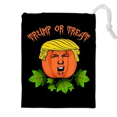 Trump Or Treat  Drawstring Pouches (xxl) by Valentinaart