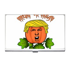 Trump Or Treat  Business Card Holders by Valentinaart