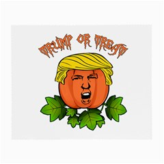 Trump Or Treat  Small Glasses Cloth by Valentinaart