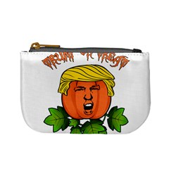 Trump Or Treat  Mini Coin Purses by Valentinaart