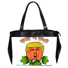 Trump Or Treat  Office Handbags (2 Sides)  by Valentinaart