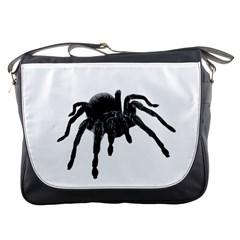 Tarantula Messenger Bags by Valentinaart