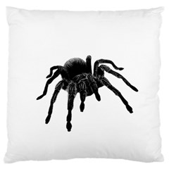 Tarantula Large Flano Cushion Case (two Sides) by Valentinaart
