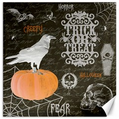 Vintage Halloween Canvas 16  X 16   by Valentinaart