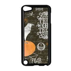 Vintage Halloween Apple Ipod Touch 5 Case (black) by Valentinaart