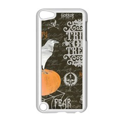 Vintage Halloween Apple Ipod Touch 5 Case (white) by Valentinaart
