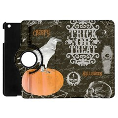 Vintage Halloween Apple Ipad Mini Flip 360 Case by Valentinaart