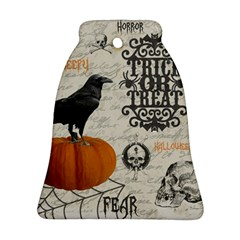 Vintage Halloween Bell Ornament (two Sides) by Valentinaart