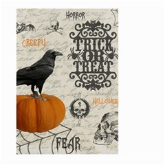 Vintage Halloween Large Garden Flag (two Sides) by Valentinaart