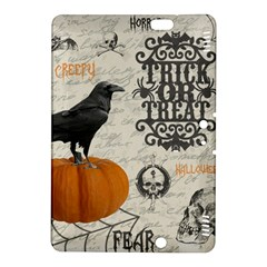 Vintage Halloween Kindle Fire Hdx 8 9  Hardshell Case by Valentinaart