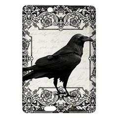 Vintage Halloween Raven Amazon Kindle Fire Hd (2013) Hardshell Case by Valentinaart