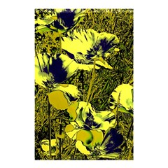 Amazing Glowing Flowers 2c Shower Curtain 48  X 72  (small)  by MoreColorsinLife