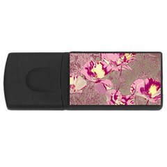 Amazing Glowing Flowers 2b Rectangular Usb Flash Drive by MoreColorsinLife