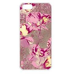 Amazing Glowing Flowers 2b Apple Iphone 5 Seamless Case (white) by MoreColorsinLife