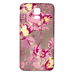 Amazing Glowing Flowers 2b Samsung Galaxy S5 Back Case (white) by MoreColorsinLife