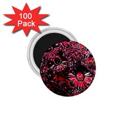 Amazing Glowing Flowers C 1 75  Magnets (100 Pack)  by MoreColorsinLife