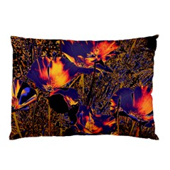 Amazing Glowing Flowers 2a Pillow Case by MoreColorsinLife