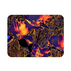 Amazing Glowing Flowers 2a Double Sided Flano Blanket (mini)  by MoreColorsinLife