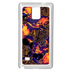 Amazing Glowing Flowers 2a Samsung Galaxy Note 4 Case (white) by MoreColorsinLife