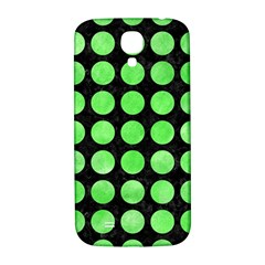 Circles1 Black Marble & Green Watercolor Samsung Galaxy S4 I9500/i9505  Hardshell Back Case by trendistuff
