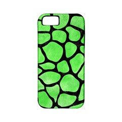 Skin1 Black Marble & Green Watercolor Apple Iphone 5 Classic Hardshell Case (pc+silicone) by trendistuff