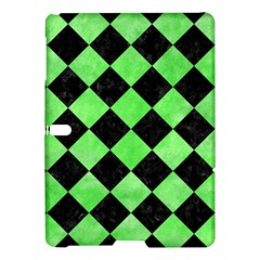 Square2 Black Marble & Green Watercolor Samsung Galaxy Tab S (10 5 ) Hardshell Case  by trendistuff