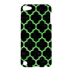 Tile1 Black Marble & Green Watercolor Apple Ipod Touch 5 Hardshell Case by trendistuff