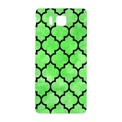 Tile1 Black Marble & Green Watercolor (r) Samsung Galaxy Alpha Hardshell Back Case by trendistuff