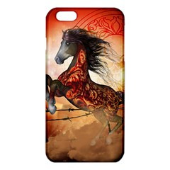 Awesome Creepy Running Horse With Skulls Iphone 6 Plus/6s Plus Tpu Case by FantasyWorld7