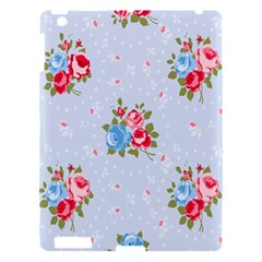 Cute Shabby Chic Floral Pattern Apple Ipad 3/4 Hardshell Case by 8fugoso